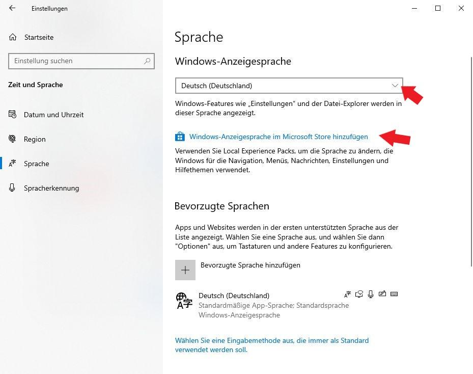 Windows 10: Hier könnt ihr einfach weitere Sprachen zu eurem System hinzufügen