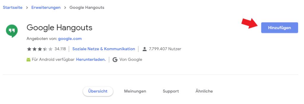 Google Chrome: App bzw. Erweiterung ganz einfach zum Browser hinzufügen