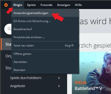 EA Origin: So kommt ihr in eure Kontoinformationen