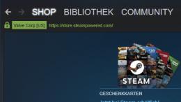 Valve Steam Gaming Games