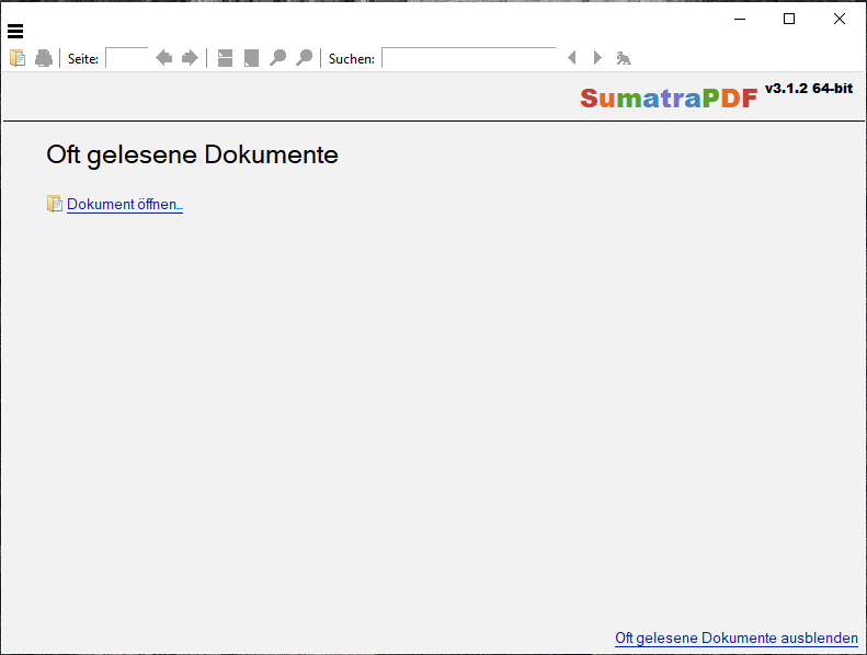 Sumantra PDF: Ein Open Source PDF Reader