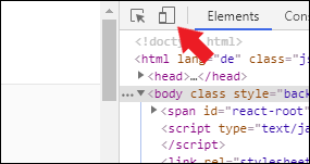 Entwicklerkonsole Chrome