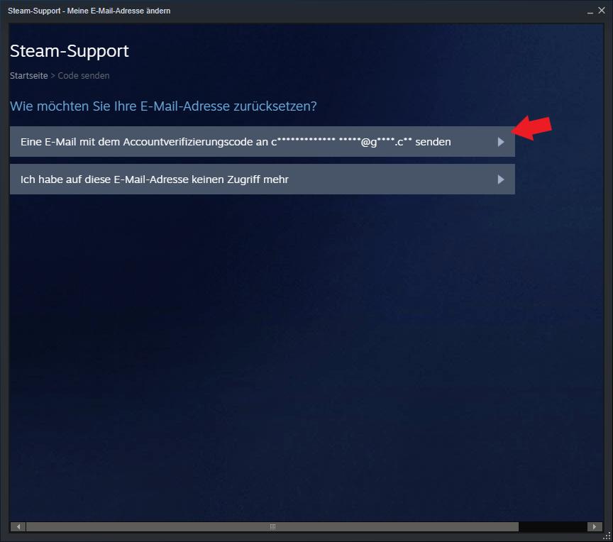 E-Mail Verifizierungscode Steam