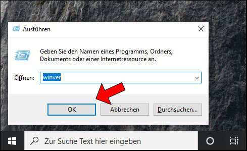 Windows 10 Ausführen wincer