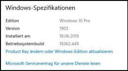 Windows 10 System Version Build Build-Nummer herausfinden auslesen