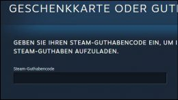 Valve Steam Client Geld Guthaben Guthabenkarten Geschenkkarten einlösen