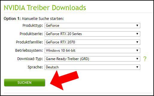 NVIDIA Geforce Game Ready Treiber intallieren updaten