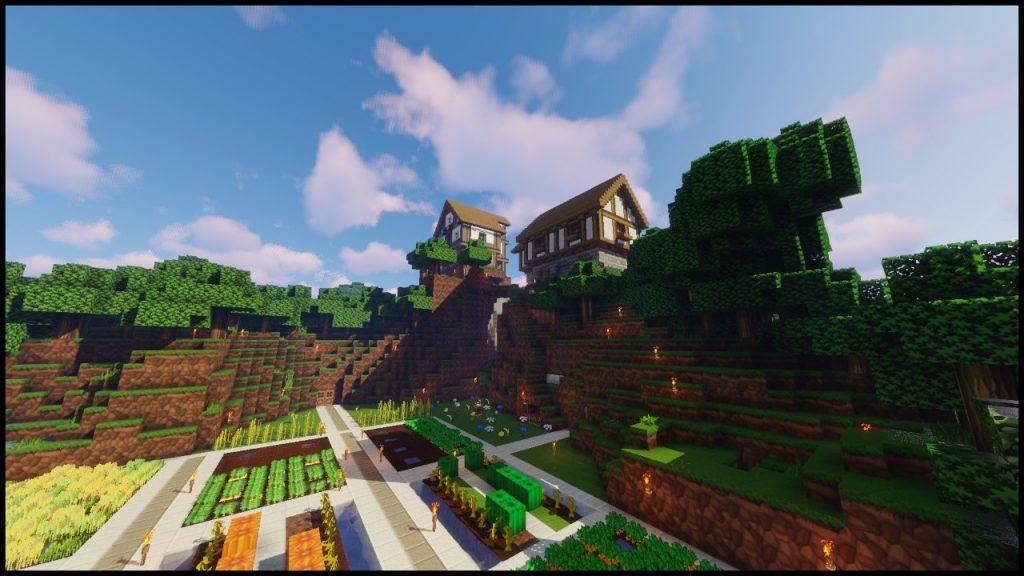 Minecraft mit Sphax Pure BD Craft Texturepack Anleitung