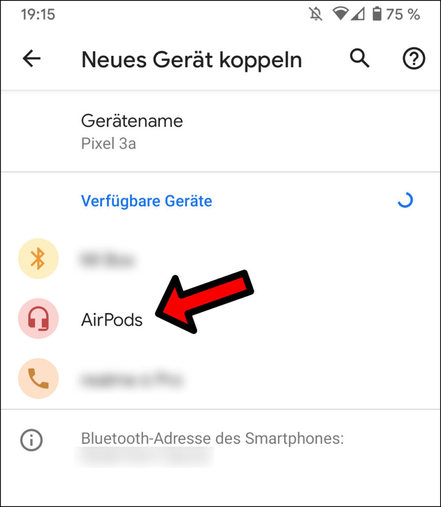 Apple AirPods mit Android koppeln