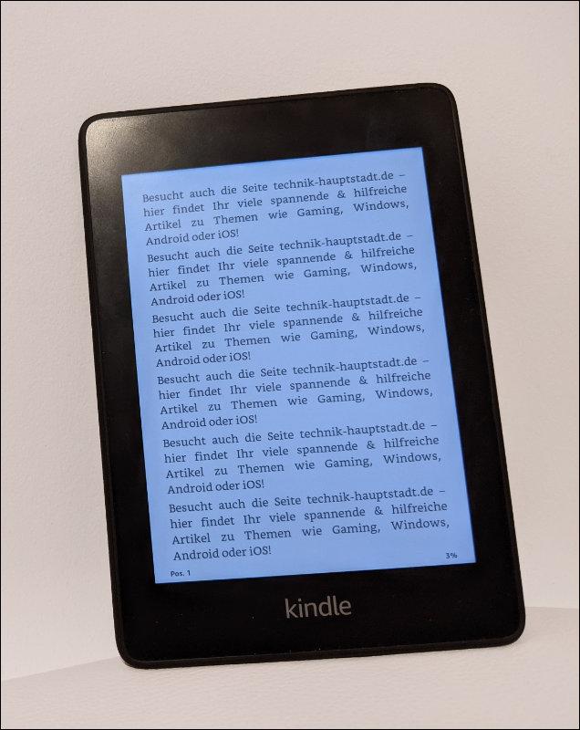 Kindle docx Dokument lesen Word Datei