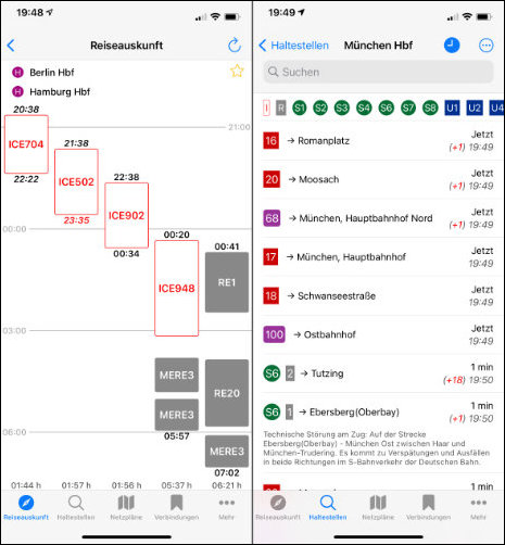 Öffi App Alternative iOS ÖPNV Navigator