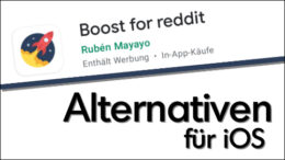 Boost für Reddit Alternativen iOS iPhone