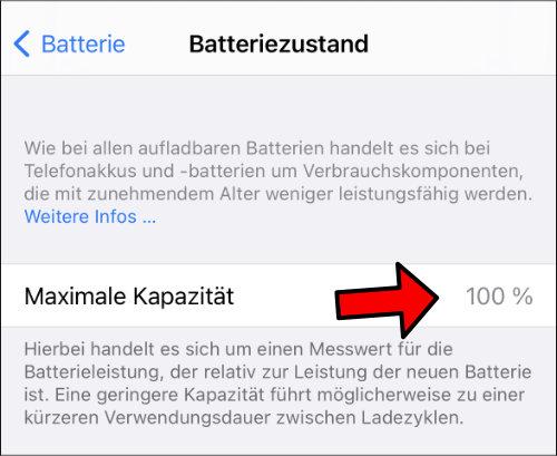 Batteriezustand auf dem iPad anzeigen Anleitung