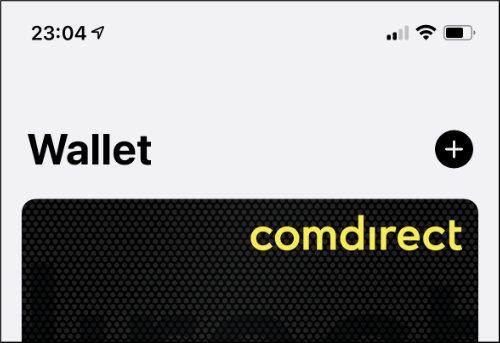 iPhone Wallet App Kundenkarte DHL Karte hinzufügen