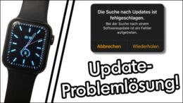 Apple Watch Software Update startet nicht Lösung