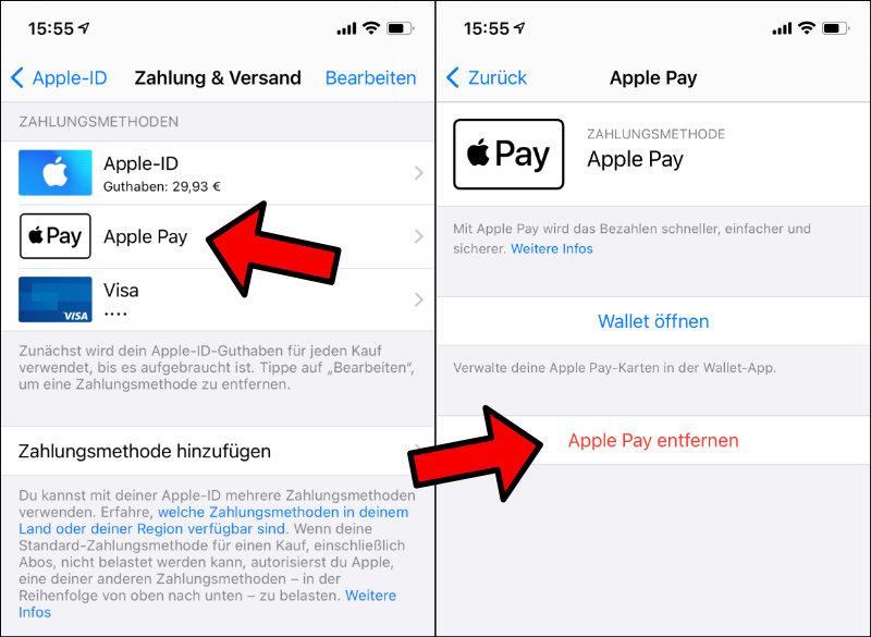 Apple iTunes Guthaben kann nicht benutzt werden