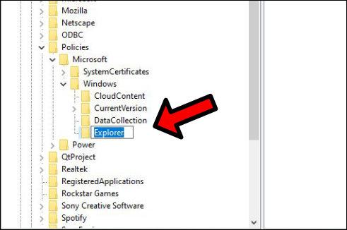 Windows 10 regedit Registrierungs-Ediotor navigieren Explorer