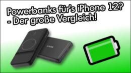 iPhone MagSafe Powerbank Vergleich Test Ratgeber