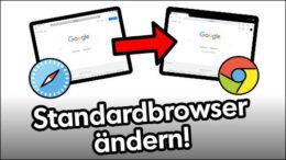iPad Standardbrowser Chrome Firefox