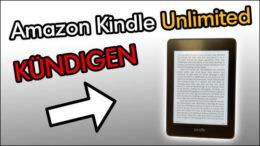 Amazon Kindle Unlimited kündigen beenden