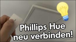 Phillips Hue Lampe Fernbedienung verbinden